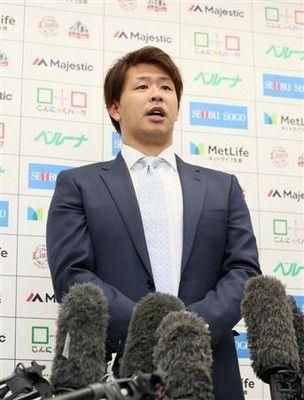 FA浅村が楽天移籍決断へ西武との最終交渉で4年20億円提示されるも