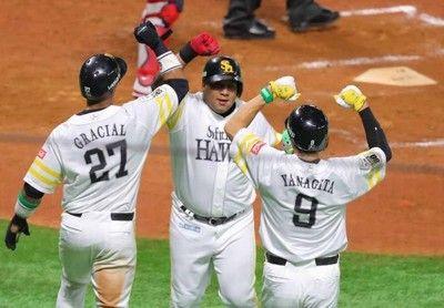 ソフトバンク、広島の猛反撃を振り切り今シリーズ初勝利…両軍合わせて6発28安打