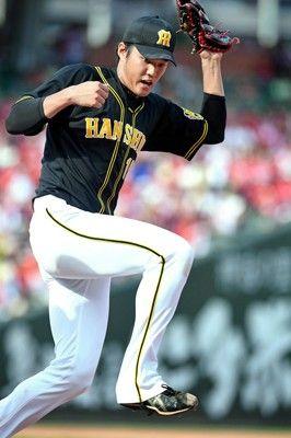 阪神藤浪、鯉斬って連勝6回9K4失点&6点攻撃自ら演出の二塁打
