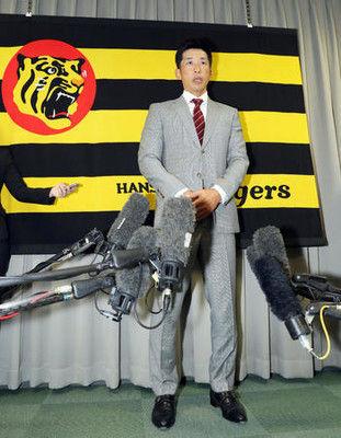 「タイガースの監督をやらせてもらう」矢野新監督