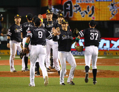 """ソフトB10点!CSファイナルS先勝""""PS男""""川島逆転打、雄星攻略"""