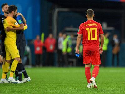 """ベルギー、初の決勝進出ならず…実らなかったブラジル下した""""奇策"""""""