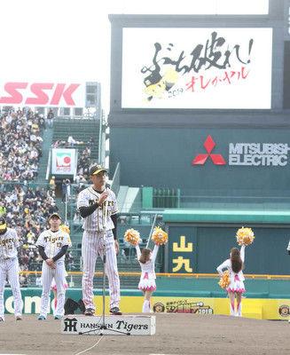 矢野阪神新スローガンは「ぶち破れ!オレがヤル」