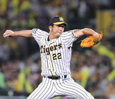 阪神・藤川、右肘痛で登録抹消「最後まで投げきれず申し訳ない」