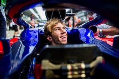 ガスリー「ホンダに感謝。新PUがうまく機能し、中団勢の上位につけることができた」:トロロッソ F1ロシアGP金曜