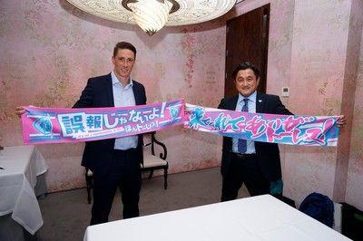 サガン鳥栖移籍を発表したトーレス「災害に見舞われた日本人をサポートしたい」