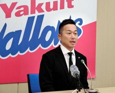 ヤクルト・石川9500万円でサイン、1億円未満は11年ぶり
