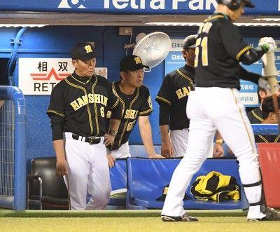 阪神完封負け8日敗れると野村監督時代以来17年ぶり最下位が確定