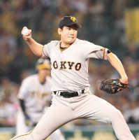 巨人菅野2失点好投で阪神に快勝