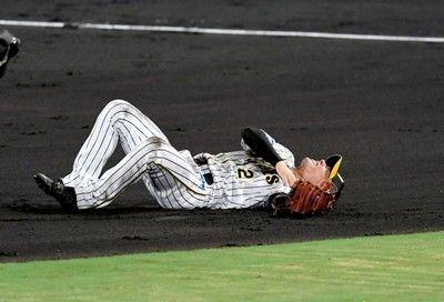 阪神・北條離脱危機、左肩負傷CSヤバイ2位と5・5差…最下位と1差