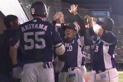 西武が怒涛の10連勝でマジック「5」秋山が9回に逆転満塁弾で劇的勝利