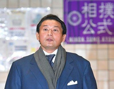 <大相撲>貴乃花親方が相撲協会に退職届を提出