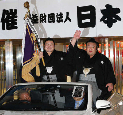 初優勝の貴景勝、2人の親方への思い語る元貴乃花親方には「電話で報告しました」