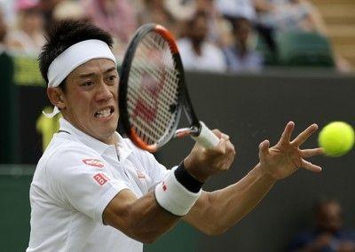<ウィンブルドン>錦織が初の8強入り日本勢で23年ぶり