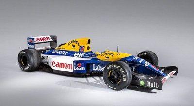 マンセルが1992年のF1を制した伝説的マシン、ウイリアムズFW14Bがオークションに出品