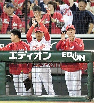 広島、五回終了6-0の大量リード27年ぶりの地元胴上げ目前