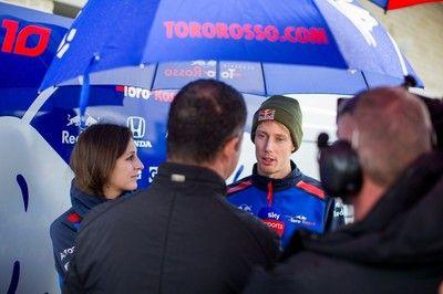 トロロッソ・ホンダF1のハートレー、すでに放出を覚悟か。チームに対し批判めいた発言