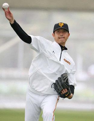 巨人岩隈、中島、吉川尚が別メニュー調整コンディション不良のため