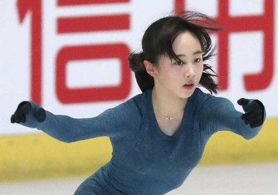 全日本ジュニア本田3姉妹がそろって練習望結に観客から喝采