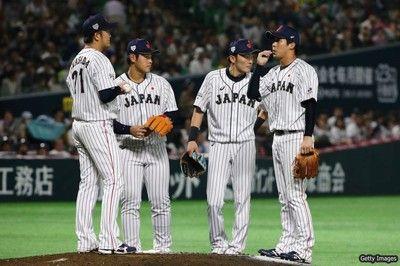 侍ジャパン、台湾代表に敗れる9回の反撃及ばず、岩貞が5失点と炎上