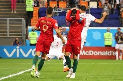 C・ロナウドがPK失敗…欧州王者ポルトガルは後半ATに痛恨被弾でB組2位通過