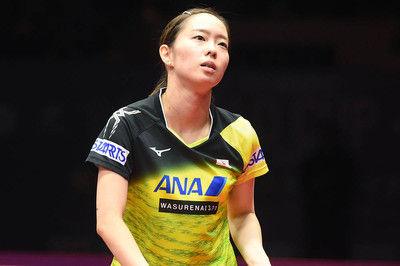 石川佳純、自身2度目の決勝進出ならず。世界女王・丁寧に敗れ3位決定戦へ<卓球W杯>