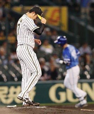 元気ない阪神=プロ野球