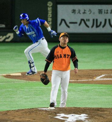 巨人・田口今季初の2軍落ち5回途中5失点KOで自身5連敗