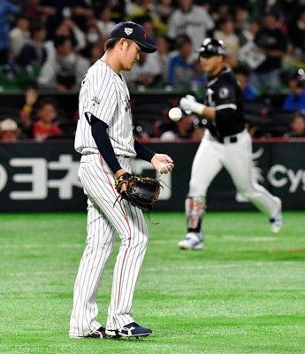 侍初招集の阪神・岩貞が3ランなど5点失点炎上打線も五回まで無安打