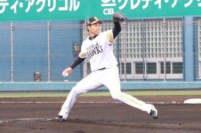 鷹・武田が炎上3回途中9安打5失点予定の3回持たずに降板