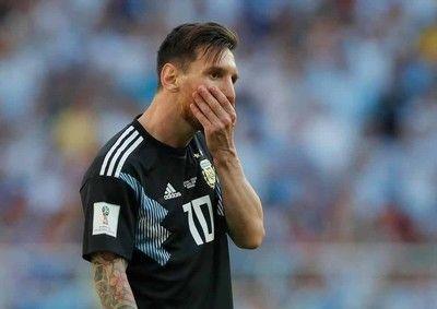メッシ、PK失敗でアルゼンチンが格下アイスランドに痛恨ドロー