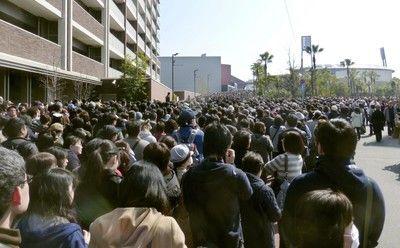 広島カープ、抽選券に5万人殺到混乱で打ち切り、警察出動