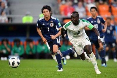 セネガル代表FWマネ、W杯の日本戦を回想「勝てると思っていたから驚いた」