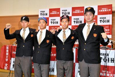 想定外だった5位指名大阪桐蔭のV投手が誓う下克上