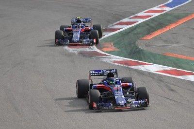 トロロッソ・ホンダF1、2台揃ってわずか4周でリタイア。ブレーキトラブルの可能性/F1ロシアGP決勝