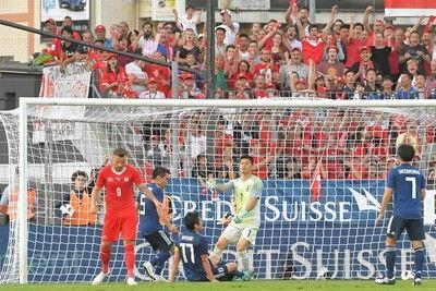 アキラ危機感0%スイスに完敗も超前向き…選手は不安募る「これでは勝てない」