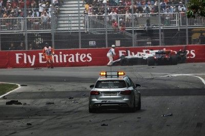 ハートレー、大クラッシュ「本当にがっかり。PUがアップデートされ、入賞を狙える速さがあった」:トロロッソ・ホンダ F1カナダGP日曜