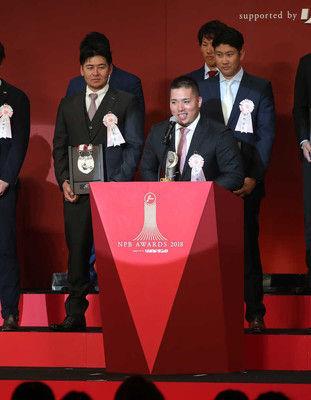 西武・山川球団16年ぶりMVPに驚き「浅村さんだと」