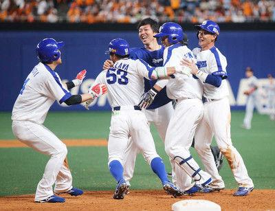 中日劇的逆転サヨナラ勝ち!巨人今季3度目5連敗で借金6