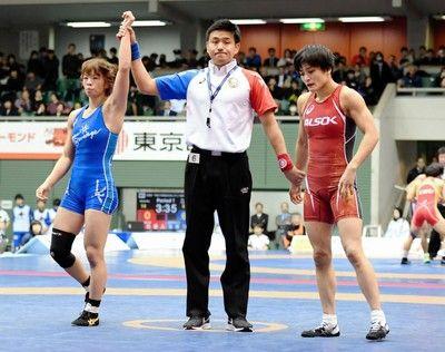 伊調馨と川井梨紗子が23日決勝で再戦1次リーグ初戦は川井が勝利