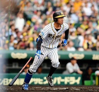 阪神・鳥谷が貴重な同点打、生え抜き最多安打にあと1本の2063安打