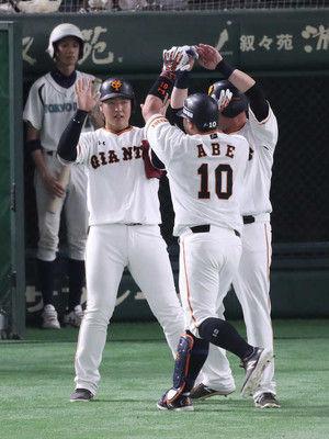 巨人・岡本95打点プロ野球史上最年少での「3割30本100打点」に前進