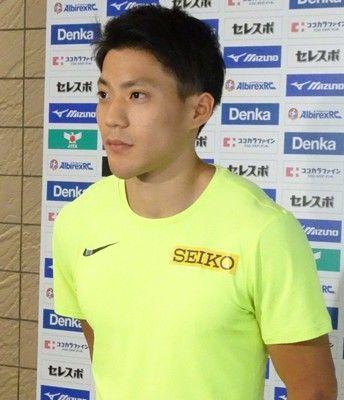 山県亮太、10秒01で優勝またも9秒台ならず桐生は10秒22で2位