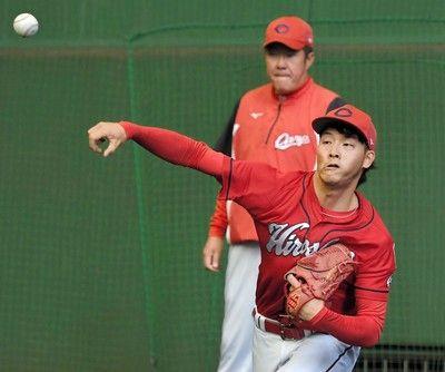 広島・薮田が契約を更改1100万減の3700万円でサイン9試合2勝1敗「やり直す」