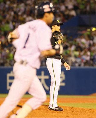 阪神岩貞8敗、不運あり4回7失点「申し訳ない」