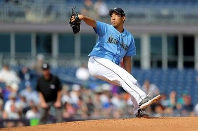 【MLB】菊池雄星、ボットーK斬り、153キロ!味方拙守で2回2失点も上々のOP戦デビュー