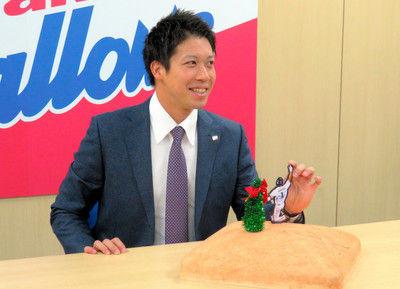 ヤクルト山田哲が4.3億円更改今季「走塁良かった」