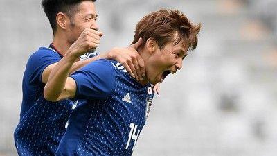 乾貴士が止まらない!2ゴール目で日本代表がパラグアイに逆転