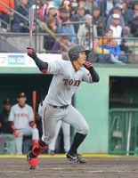 【巨人】田中俊、プロ1号が逆転満塁ホームラン広島・広輔の弟が猛打賞