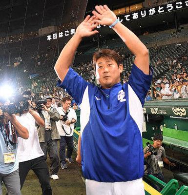 中日松坂、戦友へ惜別1勝「自分はもう少し頑張る」